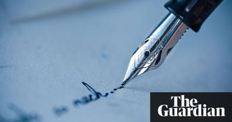 Writers bid to revive letter writing books the guardian altavistaventures Images