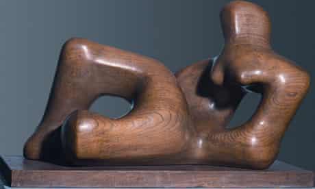 Henry Moore, Reclining Figure 1936