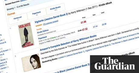 Self published ebook author becomes amazons top seller books self published ebook author becomes amazons top seller books the guardian fandeluxe Choice Image