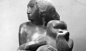 Barbara Hepworth's 'Mother and Child'