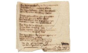 Charlotte Brontë poem