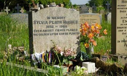 Sylvia Plath grave