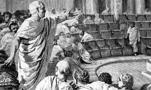 Image result for cicero speech image