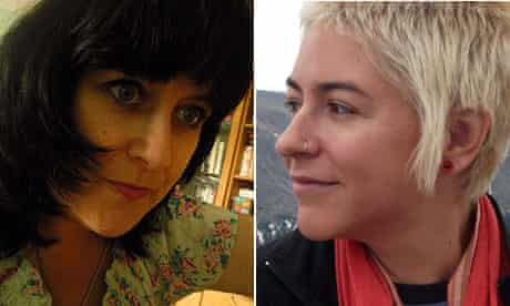 Cate Gardner and Molly Danzer