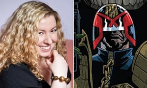 Emma Beeby and Judge Dredd