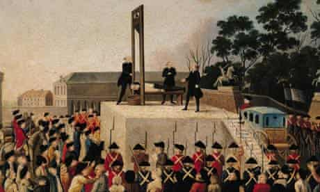The Execution of Louis XV