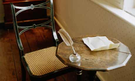 Jane Austen's writing room
