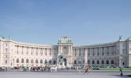 The Hofburg Palace in Vienna