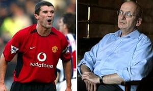 Roy Keane and Roddy Doyle