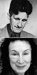 George Orwell and Margaret Atwood