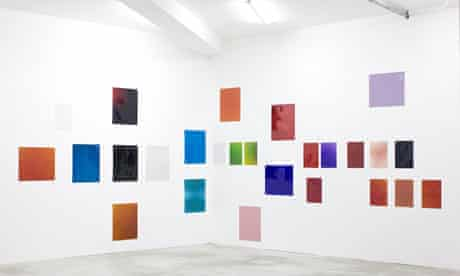 Photographs by Wolfgang Tillmans hanging on a gallery wall