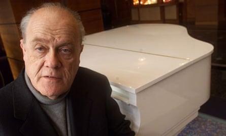 Charles Rosen at the piano