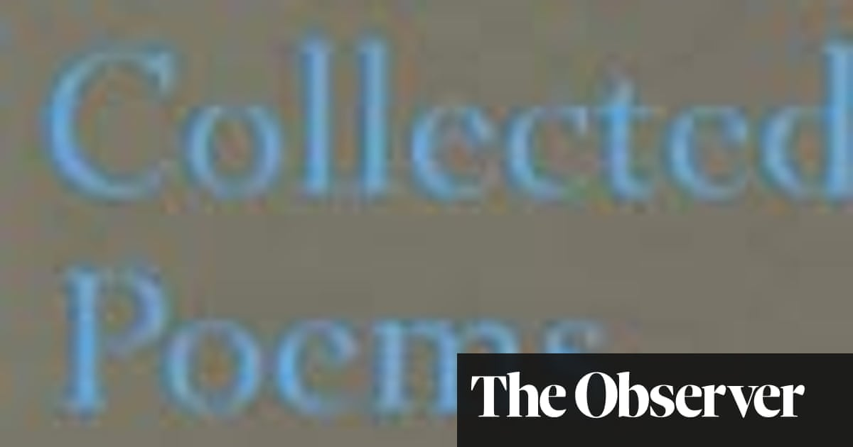Observer review: Collected Poems by Hugo Williams | Books | The Guardian