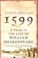 1599 by James Shapiro