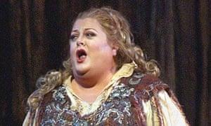 Opera singer Deborah Voigt
