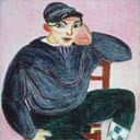 Matisse's The Young Sailor II (detail)