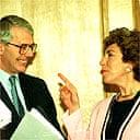John Major and Edwina Currie