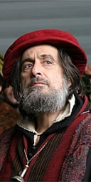 Al Pacino as Shylock in The Merchant of Venice
