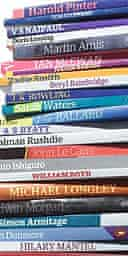 Greatest author book spines