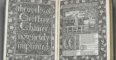 Chaucer William Morris edition 1896