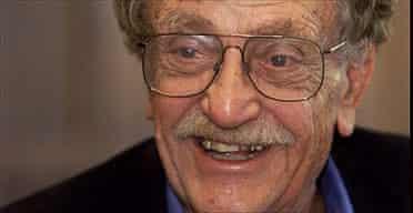 Kurt Vonnegut in 2001