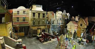 Dickens World under construction