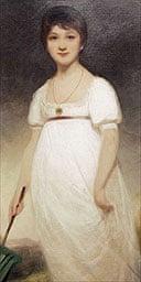 """The Jane Austen """"Rice Portrait"""" by Ozias Humphry"""