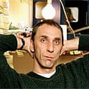 Will Self in his study