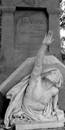 Jules Verne's grave