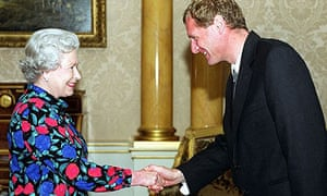 The Queen meets Andrew Motion