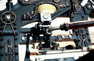 An original printing press
