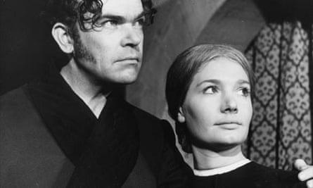 Richard Leech as Mr Rochester and Ann Bell as Jane Eyre