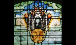 Image of William Blake in St Mary's Church, Battersea