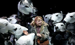 Elaine Symons in His Dark Materials at the National Theatre, 2004