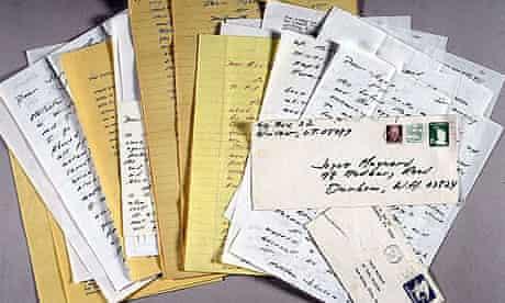 Letters from JD Salinger to Joyce Maynard
