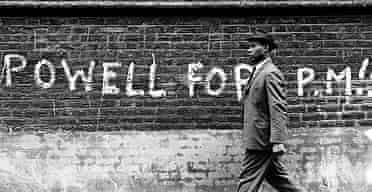 Black man in London 1968