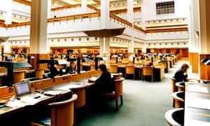 British Library reading room