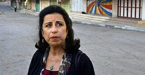 Ahdaf Soueif in Hebron