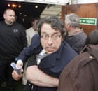 Hay festival: Monbiot in Bolton arrest attempt