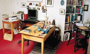 Writers' rooms: John Banville