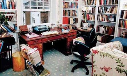 Writers' rooms: Antonia Fraser
