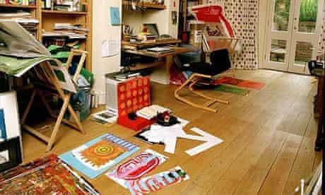 Writers' rooms: Mark Haddon