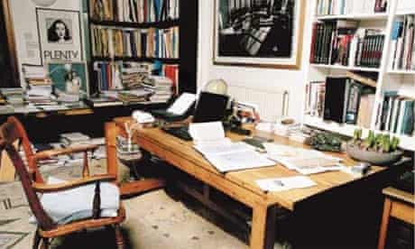 Writers' rooms: David Hare