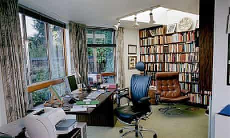 Writers' rooms: David Lodge