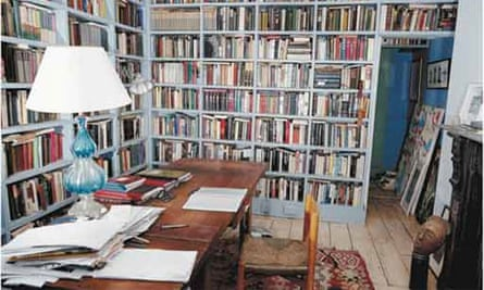 Writers' rooms: Colm Toibin