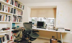Writers' rooms: Alain de Botton