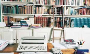 Writers' rooms: Alan Sillitoe