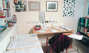 Writers' rooms: Helen Simpson