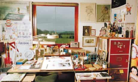 Writers' rooms: Raymond Briggs