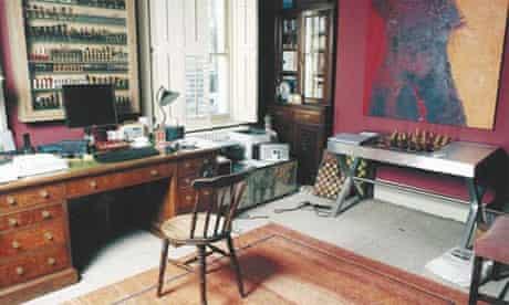Writers' rooms: Ronan Bennett